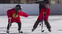 For the sixth year in a row, the Blackhawks and Chicago Park District have teamed up to offer free outdoor hockey clinics in Chicago. Youth Hockey, The Row, Clinic, Motorcycle Jacket, Chicago, Park, Free, Outdoor, Outdoors