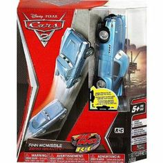 Disney Cars 2 Finn Mcmissile Zero Gravity Remote Control Vehicle by Air Hogs. $44.77. Enter the world of a Spy Car, from the Hit franchise Cars 2: Finn McMissile R/C defies gravity, and drives on ground, and walls, even ceilings. Finn McMissile brings the spy game to a whole new level! Recreate action filled scenes from the movie as Finn M. VERY HARD TO FIND AND SOLD-OUT EVERYWHERE!!. A MUST HAVE FOR ANY CARS COLLECTOR OR REMOTE CONTROL FAN!. MAKES A GREAT GIFT FOR...