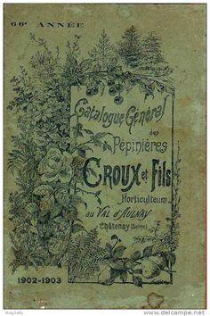 Catalogue générale des pépinières CROUX 1902-1903