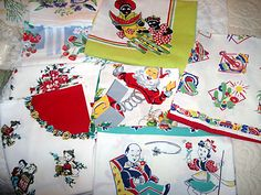 Vintage linens....I love these