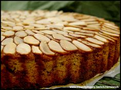 Super Moist Banana & Almond Cake