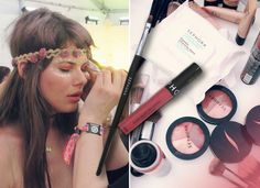 Quick fixes for the most common beauty concerns we saw at Coachella. Read more on the Glossy! #Sephora