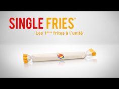 « Single Fries », les premières frites vendues à l'unité par Burger King | Food Geek & Love