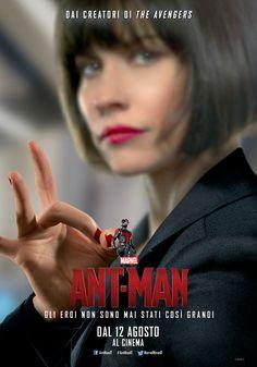 Ant-Man un film di Peyton Reed. Con Hayley Atwell, Evangeline Lilly, Judy Greer, Paul Rudd, Corey Stoll, Michael Douglas, Bobby Cannavale, John Slattery, Abby Ryder Fortson, Michael Peña. #LeDimensioniNonContano #AntMan #Marvel