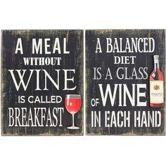 Wine Wall Art.