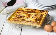 Tart with Époisses Epoisses, Cooling Racks, 20 Min, Pie Dish, Cooking Time, Ham, Waffles, Stuffed Peppers, Bread