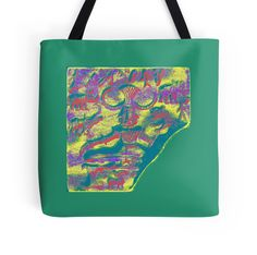 """Pasupatinath 6"" Tote Bags by indusdreaming 