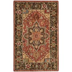 Nourison Living Treasures Rust Rug (1'9 x 2'9) - Overstock™ Shopping - Great Deals on Nourison Accent Rugs