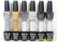 OPI GWEN STEFANI HOLIDAY 2014 GelColor / Nail Lacquer *Shimmer Glitter Design #OPI