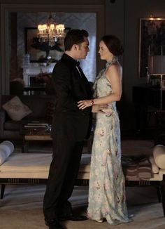 Chuck Bass and Blair Waldorf