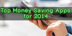 Top Money Saving Apps for 2014