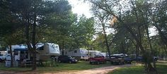 Hiddenite Family Campground - Family owned and operated and open year-round with 37 full hook-up sites, upgraded tent sites, and primitive tent sites, nestled in peaceful wooded surroundings along the South Yadkin River. 828-632-3815 | www.hiddenitecampground.com