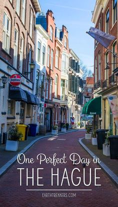 The Hague Netherlands One Day Itinerary #thehague #netherlands #travelideas #europe