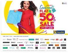 Sankranti Flat 50% Off Sale On Fashion