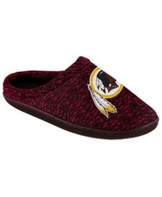 Forever Collectibles Washington Redskins Knit Cup Sole Slipper - Assorted XL