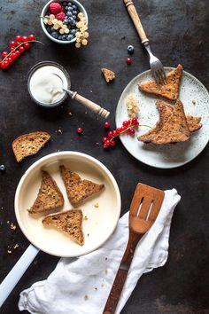 Veganes French Toast - glutenfreies French Toast ohne Eier und Zucker von freiknuspern