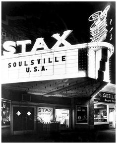 Stax records headquarters in Memphis Tennessee