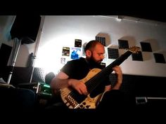 study new song with 7 string bass 2. - YouTube