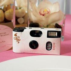 L'appareil photo jetable de table - Place du Mariage