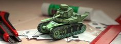 WW2`s Tanks Paper Models In 1/50 Scale - by World Of Papertanks - via Paper Modelers         ===     Three really well done paper models of WW2`s tanks in 1/50 scale, with beautiful textures and not hard-to-build, by World Of Papertanks, a Ukrainian website.