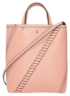 820f84fcfed5 Proenza Schouler Use Appsale10 For Extra Discount Small Hex Convertible  Pink Deep Blush Calfskin Leather Tote. Tradesy