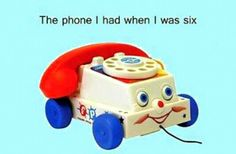 The Phone I Had When I Was Six. #90's Kid #Childhood Memories # 90's Toys