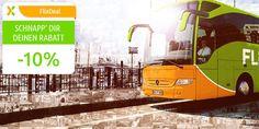 10 % Gutschein bei FlixBus #gutschein #flixbus #schnappchen #gutscheinlike
