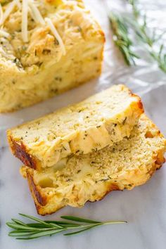 Ricotta Cheesy Bread Ready in less than an hour, this Herbed Ricotta Cheesy Bread is sure to become a fast favorite!Ready in less than an hour, this Herbed Ricotta Cheesy Bread is sure to become a fast favorite! Tasty Bread Recipe, Quick Bread Recipes, Bread Machine Recipes, Easy Bread, Baking Recipes, Cheese Bread Loaf Recipe, Pudding Recipes, Love Food, Food And Drink