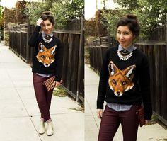 Fantastic Mr. Fox (by Mallory W) http://lookbook.nu/look/4312623-Fantastic-Mr-Fox