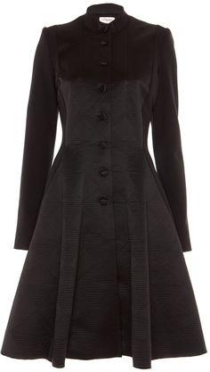 TEMPERLEY LONDON - Black Noa Coat (Kate Middleton has the same jacket. It looks amazing!)