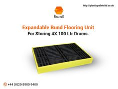 Made from polyethylene for broad range chemical compatibility, these bund floor units are very easy to clean. The workstation can be expanded to store more than drums. Information About Plastic, Plastic Pallets, Pallet Crates, Sump, Plastic Cutting Board, Range, The Unit, Cleaning, Flooring