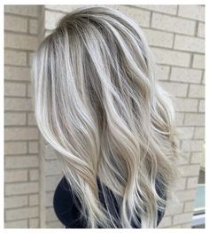 Icy Blonde Balayage #icy #blonde #hair #highlights Master Stylist Anna has us whooh-ing over this stunning icy blonde balayage! Are you ready to end the winter with some ice? ❄️ #icyblonde #icyblondehair #blondebalayageideas #madison #wisconsinhair #beinspiredsalon #teambeinspired Ice Blonde Hair, Blonde Hair Shades, Blonde Hair Looks, Icy Blonde, Brown Blonde Hair, Platinum Blonde Hair, Winter Blonde Hair, Light Blonde Balayage, Highlighted Blonde Hair
