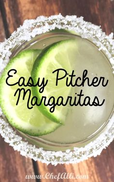 Pitcher Margaritas are ideal for family gatherings, game nights, watching sports, or celebrating the holidays! Whatever the occasion, make sure you always have the ingredients on hand to whip up these EASY Pitcher Margaritas to enjoy. Margarita Recipe For A Crowd, Classic Margarita Recipe, Margarita Recipes, Best Pitcher Margarita Recipe, Patron Margarita Recipe, Pitcher Of Margaritas, Sangria Recipes, Limeade Margarita, Skinny Margarita