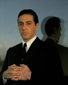 """""""Portrait of Al Pacino for The Godfather directed by Francis Ford Coppola, Corleone Family, Don Corleone, The Godfather Part Ii, Godfather Movie, Godfather Series, Robert Downey Jr, Die Verurteilten, Young Al Pacino, Donnie Brasco"""