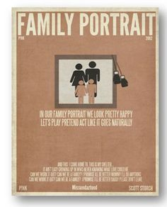 - from Family Portrait by P!nk