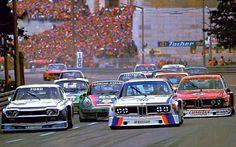 BMW 3.5 CSL vs. Ford Capri vs. Porsche Carrera RSR – Norisring, Nuremberg 1975