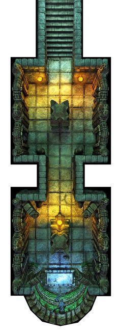 Hall of Fallen Angel - Hall of the Sword