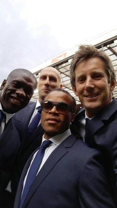 Dutch heroes of Oranje: Clarence Seedorf Jaap Stam, Edgar Davids, Sport Icon, Pilot, Mens Sunglasses, Soccer, Hero, Football, Sports