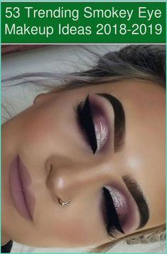 Not just is the minimalist makeup look something that is on trend at the moment, however going very little will save you so much time when it comes ..... Dramatic Eyes, Dramatic Eye Makeup, Smokey Eye Makeup, Purple Wedding Makeup, Beach Wedding Makeup, Wedding Beauty, Diy Wedding, Smokey Eyes, Purple Smokey Eye