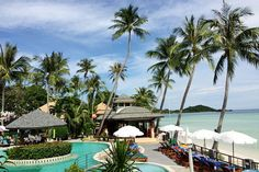 Chaba Cabana Beach Resort & Spa, Koh Samui, Thailand