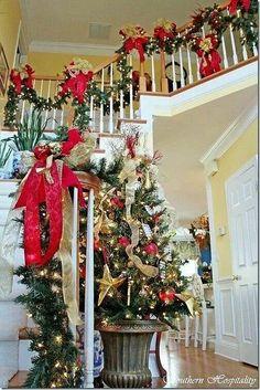 Christmas Bannister!  :)