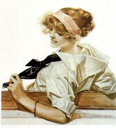 Joseph Christian Leyendecker ~Repinned Via Ron Johnson