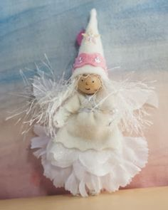 Still a little time to win an angel by Lenka Vodicka, author of Forest Fairy Crafts. Enter by noon, Pacific Time, today (December 9, 2013). Good luck!