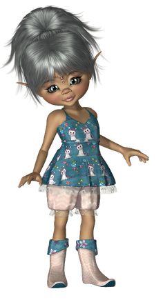 *Angie's Free Poser Tubes*: Tubes Kiki 002