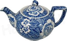 Blue Victorian Chintz
