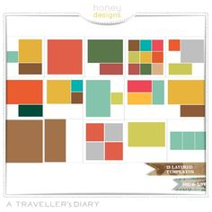 A Traveller's Diary (Templates)