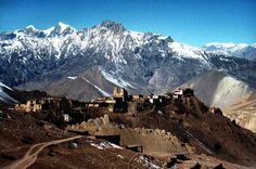 Jomsom, Nepal on the way to Muktinath.
