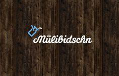 Mülibidschn Concept & Design by Matthias Jungwirth and Doris Wimmer Neon Signs, Concept, Graphic Design, Logo, Teamwork, Logos, Visual Communication, Environmental Print
