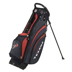 Houston Texans NFL Stand Bag by Wilson. Buy now @ReadyGolf.com!