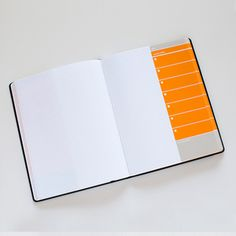 Action Journal Orange, $14.25, now featured on Fab.